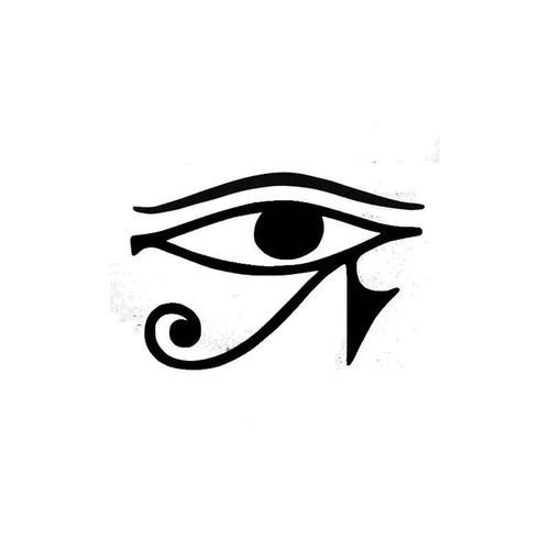 24 Eye Of Ra Symbol Egyptian Vinyl Sticker
