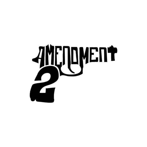 2 Amendment 44 Vinyl Sticker