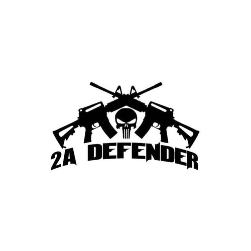 2nd Amendment Defender 860 Vinyl Sticker