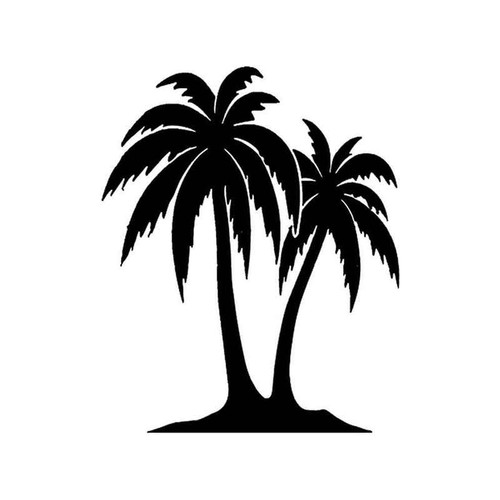 38 Palm Tree 3 Vinyl Sticker
