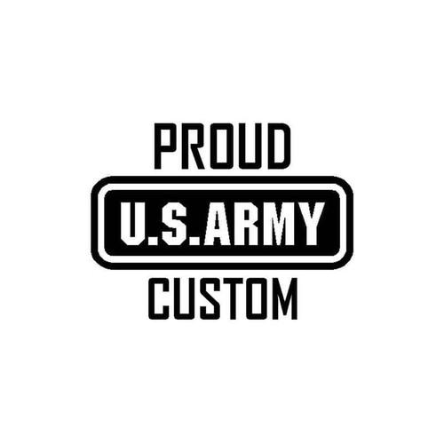 51 Army Proud Vinyl Sticker