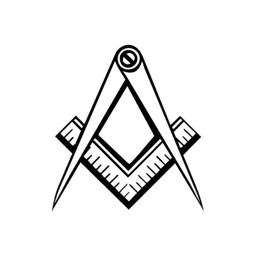 59 Grange Freemason Vinyl Sticker