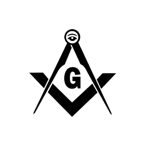 61 Grange Freemason Vinyl Sticker