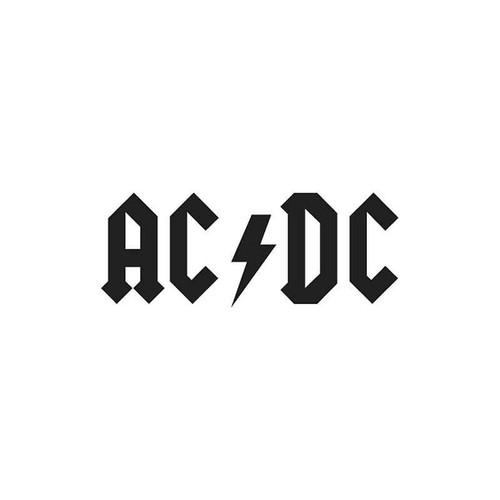Ac Dc 07 Vinyl Sticker