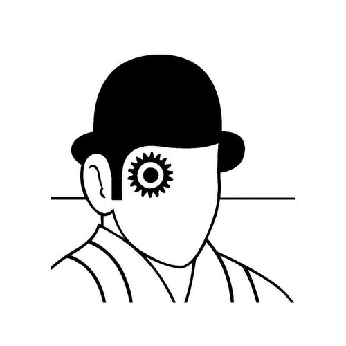 A Clockwork Orange Vinyl Sticker