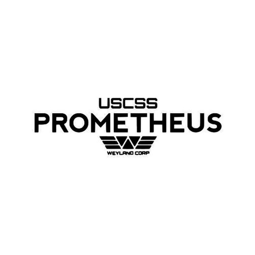 Alien Aliens Prometheus Alien Prometheus Vinyl Sticker