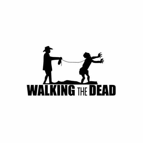Walking The Dead Zombie Slave  Vinyl Decal Sticker  Size option will determine the size from the longest side Industry standard high performance calendared vinyl film Cut from Oracle 651 2.5 mil Outdoor durability is 7 years Glossy surface finish