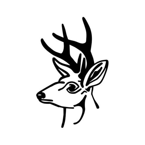 Deer Wildlfie Vinyl Sticker