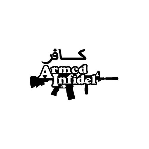 Armed Infidel 852 Vinyl Sticker
