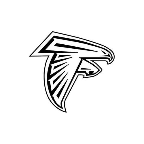 Atlanta Falcons 20 Vinyl Sticker