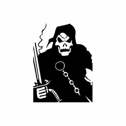 Villain Doctor Doom  Vinyl Decal Sticker  Size option will determine the size from the longest side Industry standard high performance calendared vinyl film Cut from Oracle 651 2.5 mil Outdoor durability is 7 years Glossy surface finish