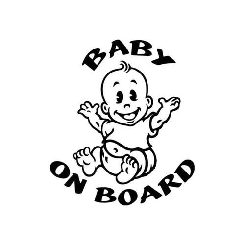 Baby On Board 026 Vinyl Sticker