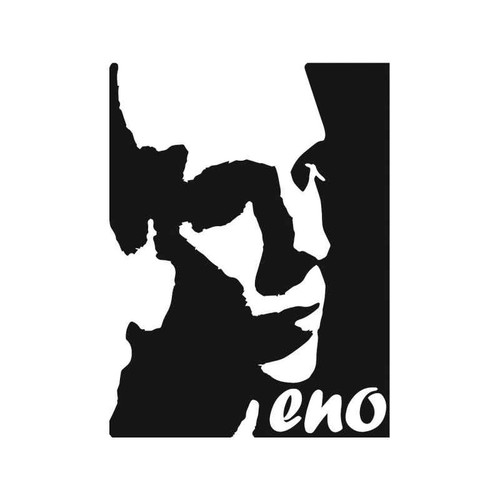 Brian Eno Vinyl Sticker