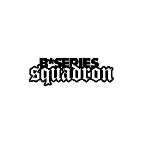 B Series Squadron Vinyl Sticker