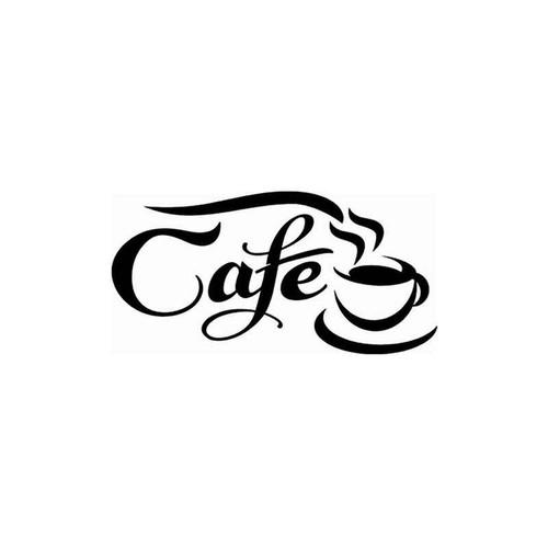 Cafe 264 Vinyl Sticker