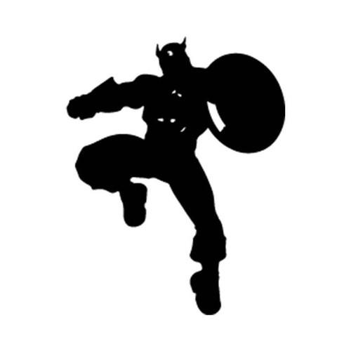 Captain America Captain America 5 Vinyl Sticker