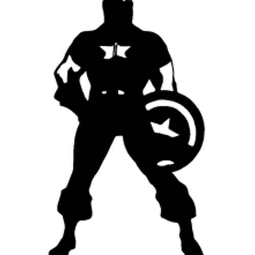 Captain America Captain America 8 Vinyl Sticker
