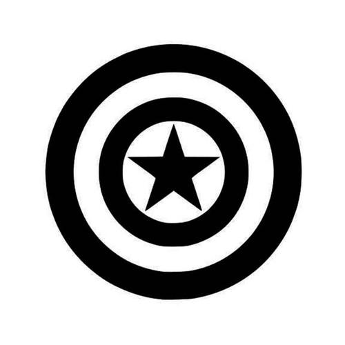 Captain America Captain American Logo Captain America Vinyl Sticker