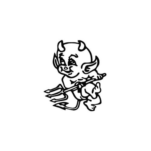 Little Devil Vinyl Sticker