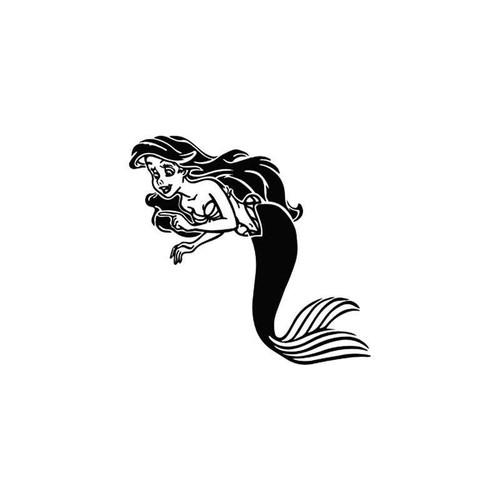 Little Mermaid Vinyl Sticker