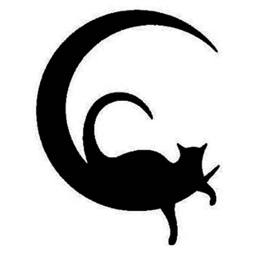 Cat S Cat Vinyl Sticker