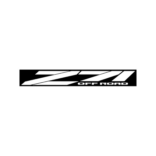 Chevy Z71 Off Road Decal