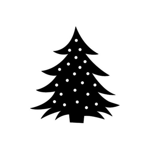 Christmas Tree 45 Vinyl Sticker