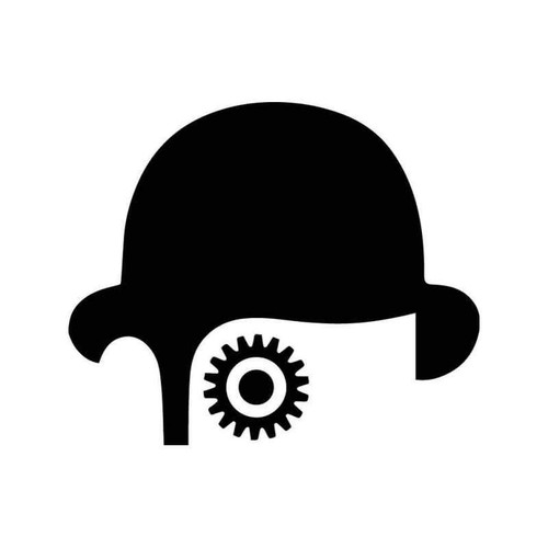 Clockwork Orange Eye Vinyl Sticker