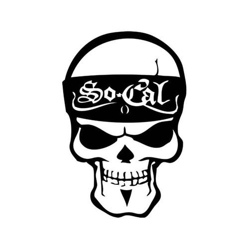 Corporate Logo s Socal Style 4 Vinyl Sticker
