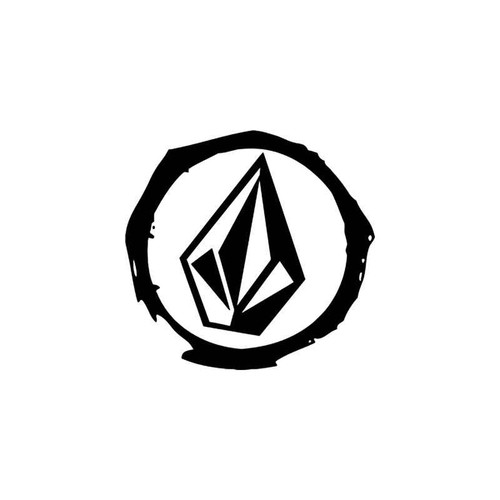 Corporate Logo s Volcom Diamond Style 5 Vinyl Sticker