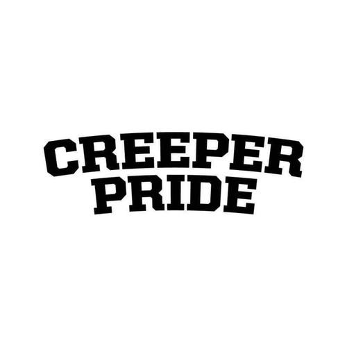 Creeper Pride 2 Vinyl Sticker