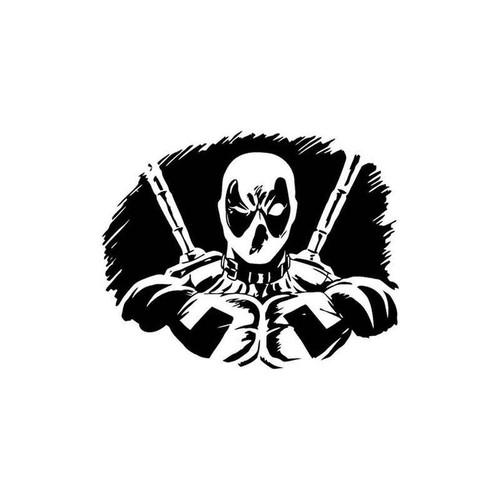 Deadpool 101 Vinyl Sticker