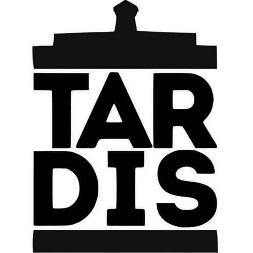 Doctor Who Tardis Doctor Who Tardis Vinyl Sticker