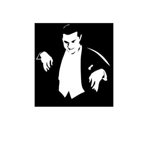 Dracula 2 Vinyl Sticker
