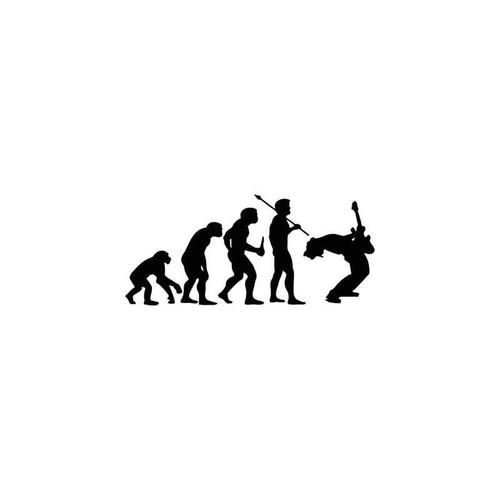 Evolution s Rockstar Evolution Vinyl Sticker