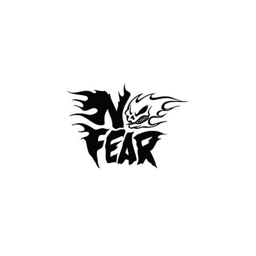 Fear s No Fear 4 Vinyl Sticker