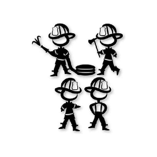 Fire Fighters 173 Vinyl Sticker