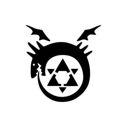 Full Metal Alchemist Homunculus Symbol 958 Vinyl Sticker