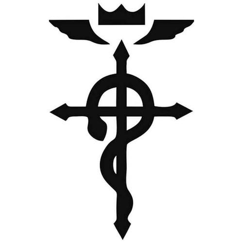 Full Metal Alchemist Symbol 959 Vinyl Sticker