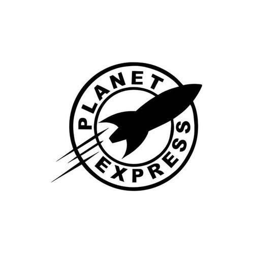 Futurama Planet Express 961 Vinyl Sticker