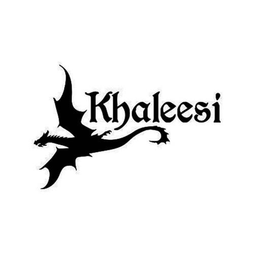 Game Of Thrones Khaleesi Game Of Thrones Khaleesi Vinyl Sticker