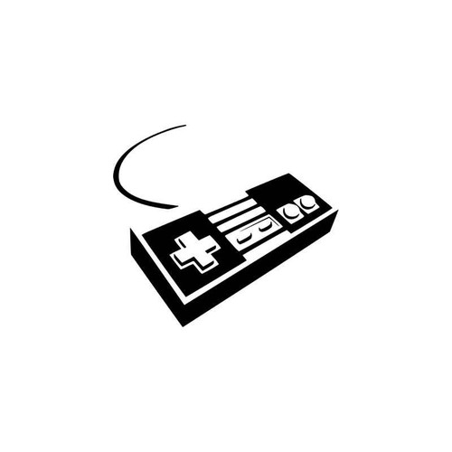 Gaming s Nintendo Controller Gaming Vinyl Sticker