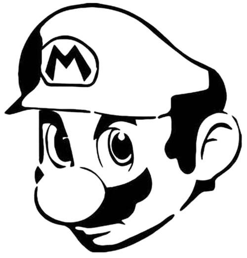 Super Mario Head
