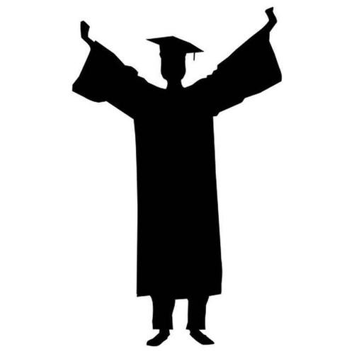 Graduation 204 Vinyl Sticker