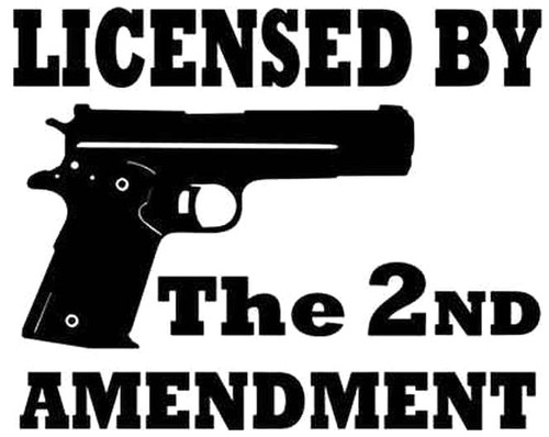 Licensed By The 2nd Amendment