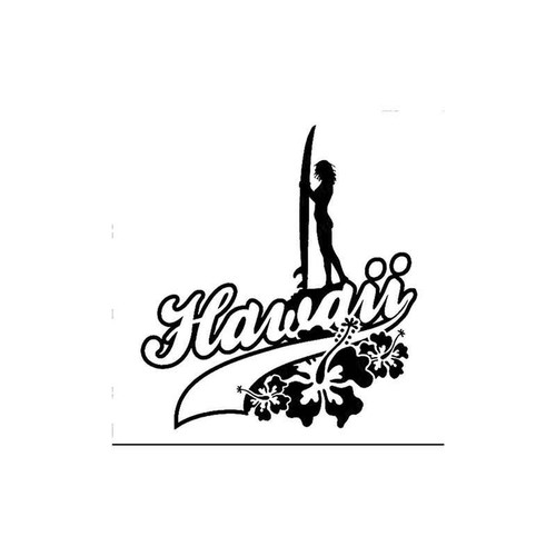 Hawaii 40 Vinyl Sticker
