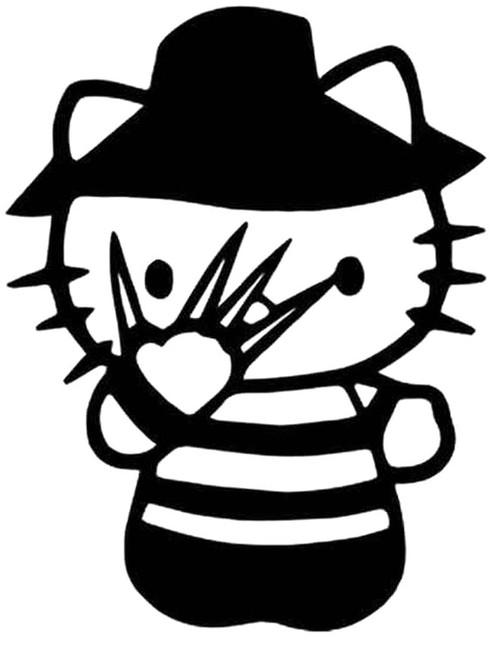 Hello Kitty Freddy Krueger