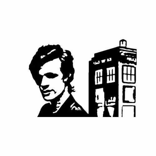 Tv Shows Doctor Who Police Box  Vinyl Decal Sticker  Size option will determine the size from the longest side Industry standard high performance calendared vinyl film Cut from Oracle 651 2.5 mil Outdoor durability is 7 years Glossy surface finish