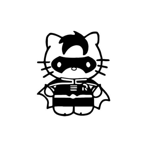 Hello Kitty s Hello Kitty Robin Style 2 Vinyl Sticker