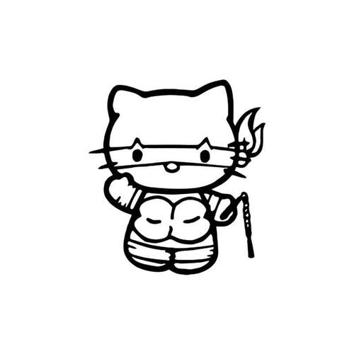 Hello Kitty s Hello Kitty Teenage Mutant Ninja Turtle Vinyl Sticker